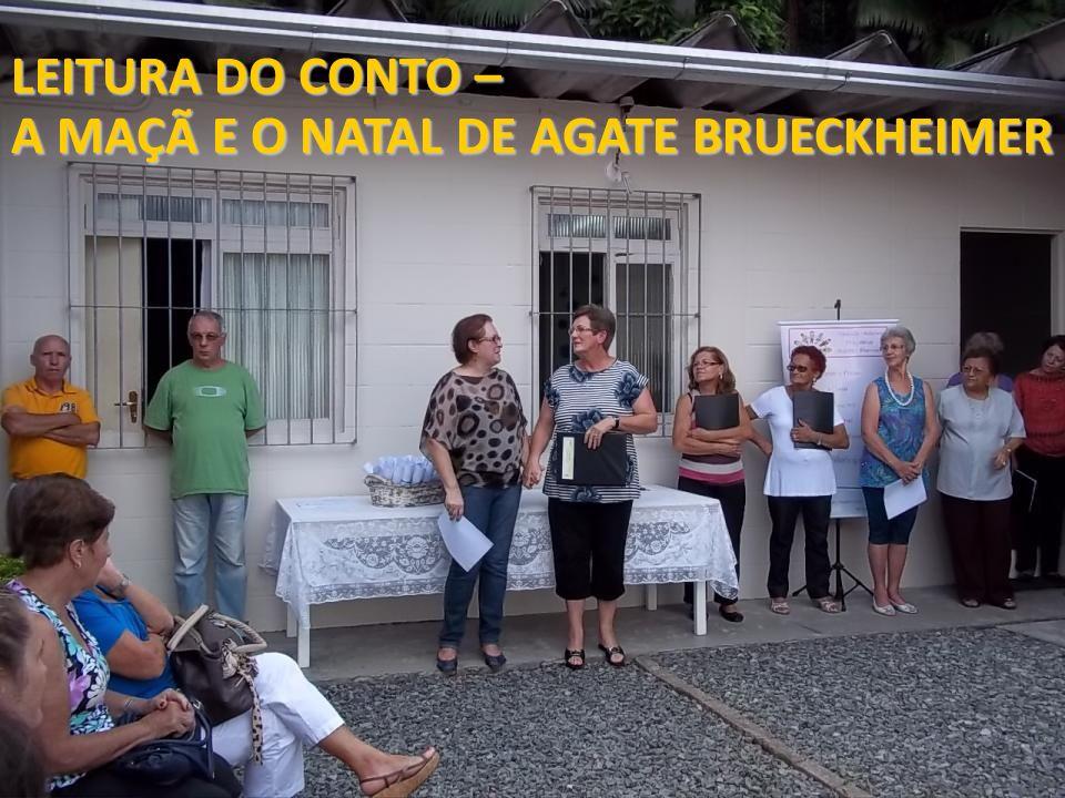 LEITURA DO CONTO – A MAÇÃ E O NATAL DE AGATE BRUECKHEIMER