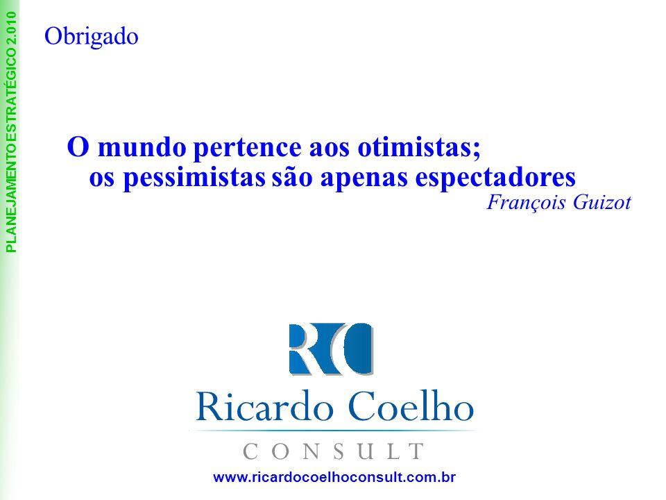 O mundo pertence aos otimistas; os pessimistas são apenas espectadores