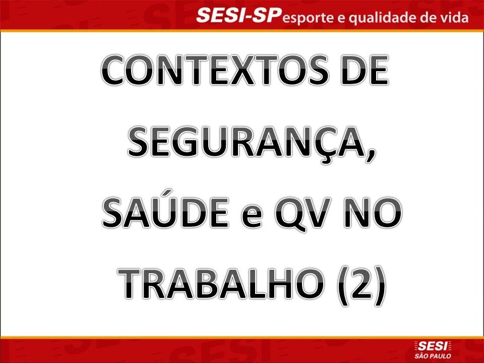 CONTEXTOS DE SEGURANÇA, SAÚDE e QV NO TRABALHO (2)