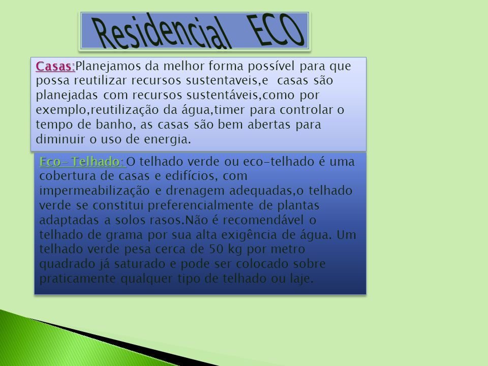 Residencial ECO