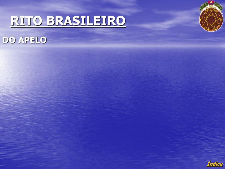 RITO BRASILEIRO DO APELO