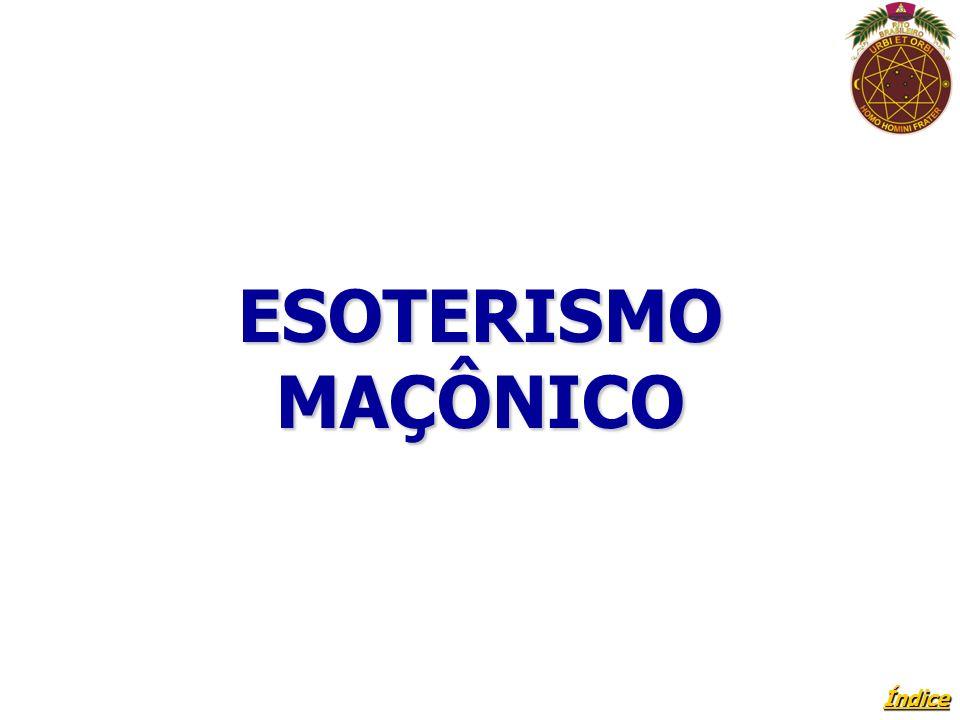 ESOTERISMO MAÇÔNICO