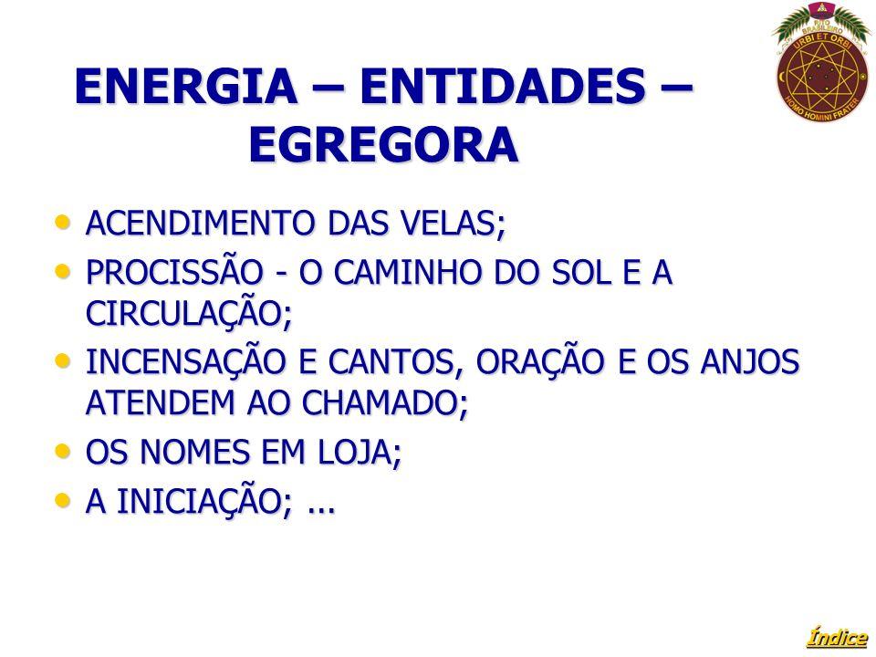 ENERGIA – ENTIDADES – EGREGORA