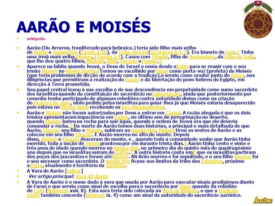 AARÃO E MOISÉS wikipedia.