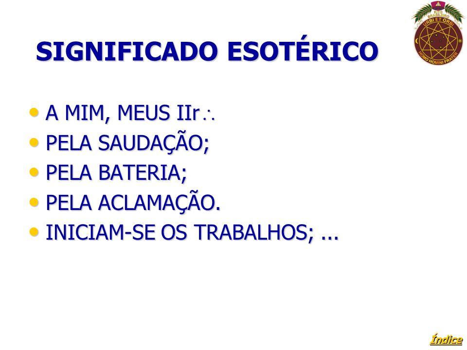 SIGNIFICADO ESOTÉRICO