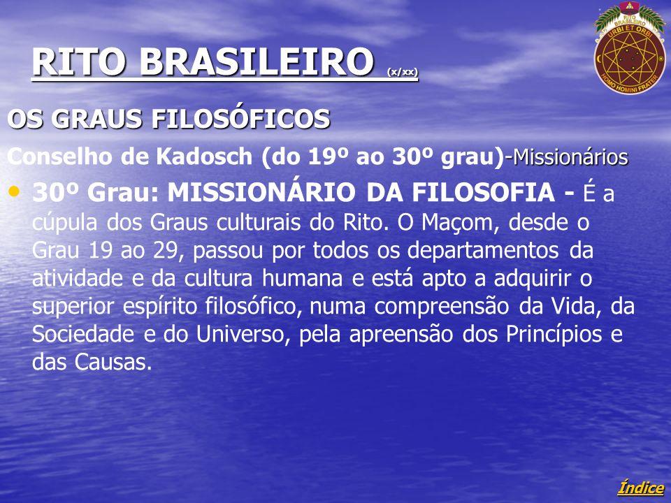 RITO BRASILEIRO (x/xx)