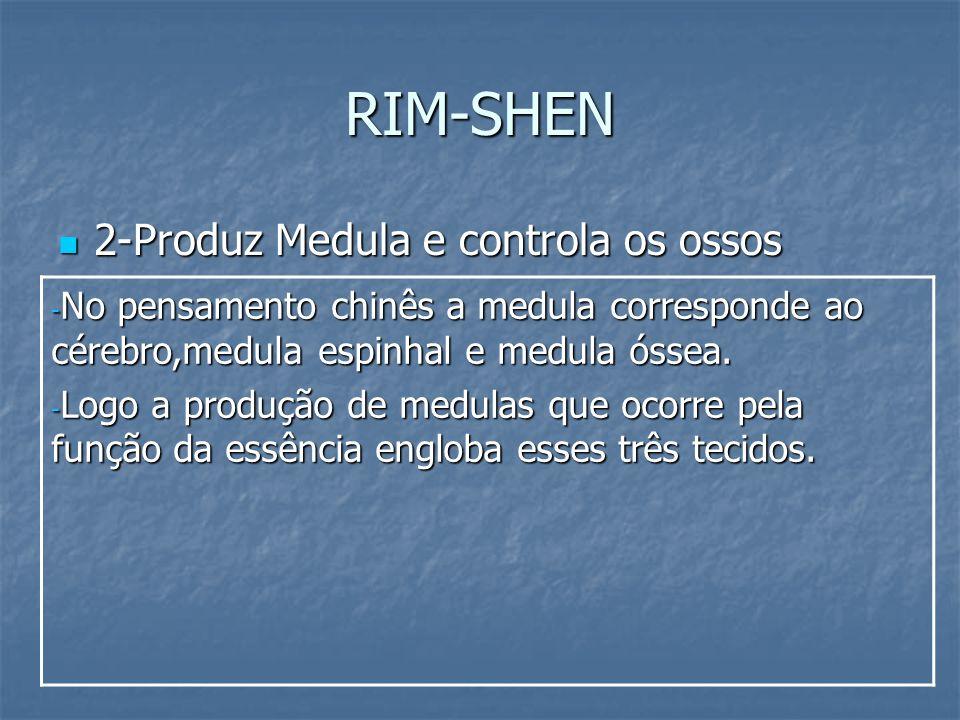 RIM-SHEN 2-Produz Medula e controla os ossos