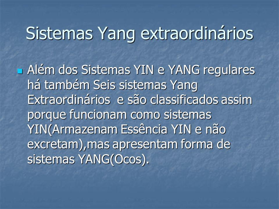 Sistemas Yang extraordinários