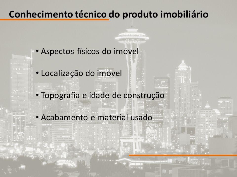 Conhecimento técnico do produto imobiliário