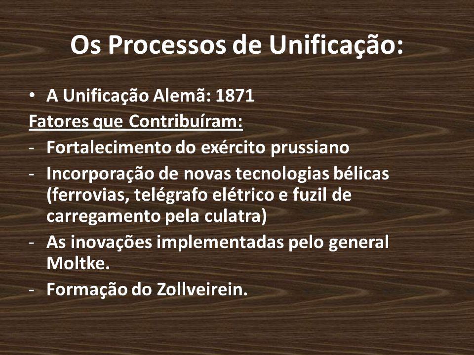 Os Processos de Unificação: