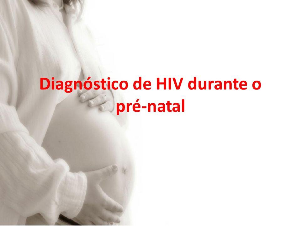 Diagnóstico de HIV durante o pré-natal