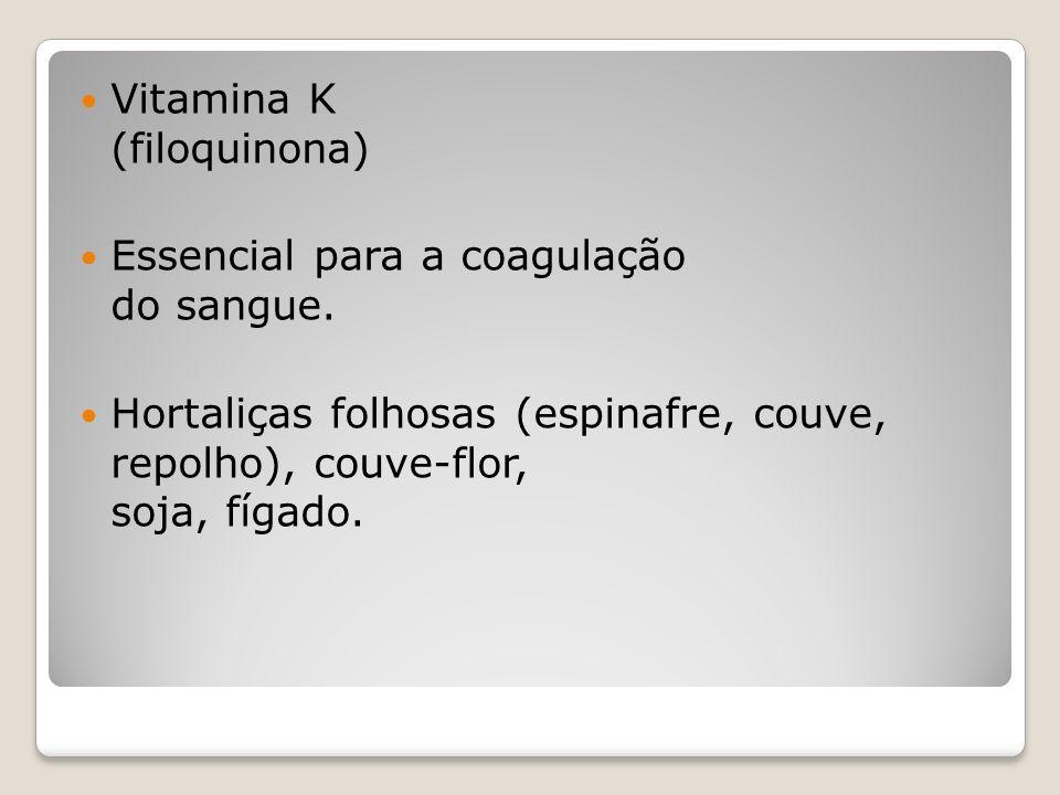 Vitamina K (filoquinona)
