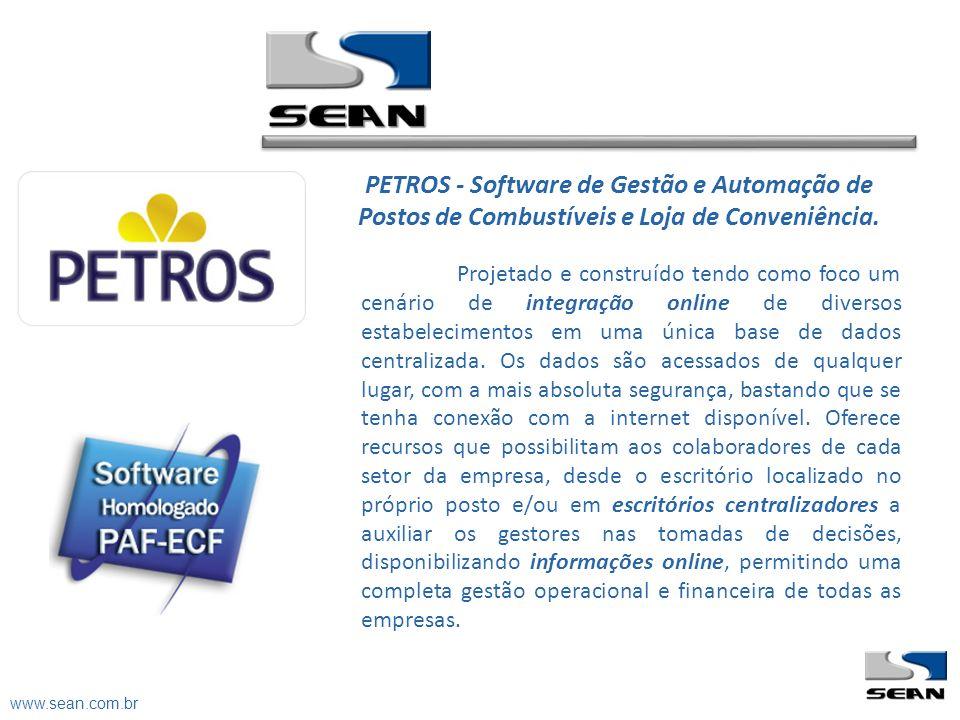 PETROS - Software de Gestão e Automação de Postos de Combustíveis e Loja de Conveniência.