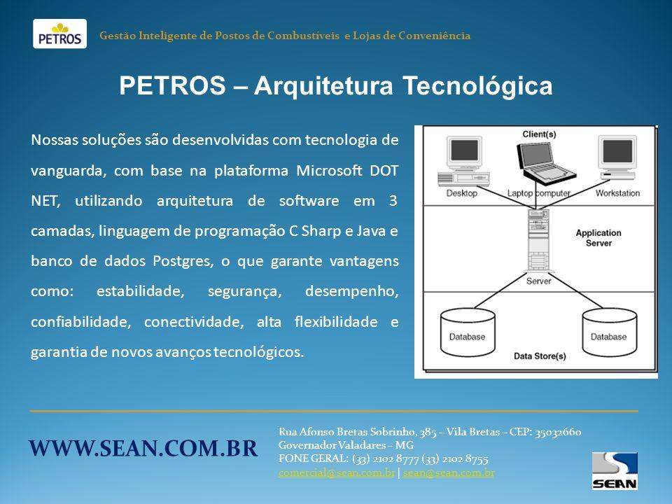 PETROS – Arquitetura Tecnológica