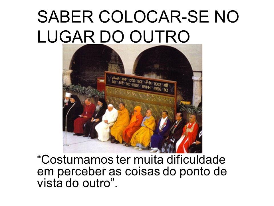 SABER COLOCAR-SE NO LUGAR DO OUTRO