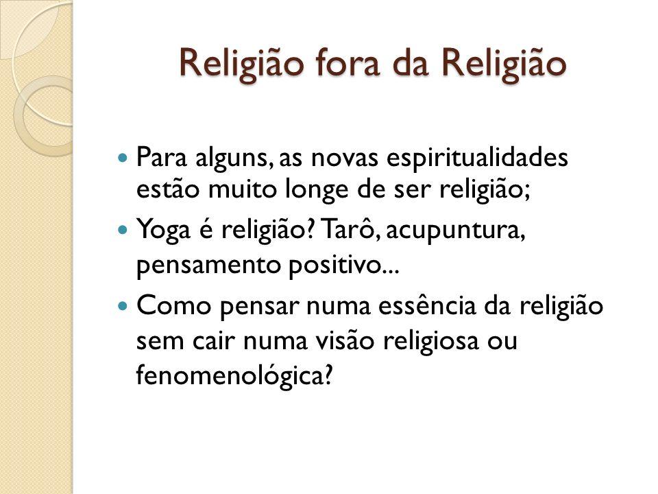 Religião fora da Religião