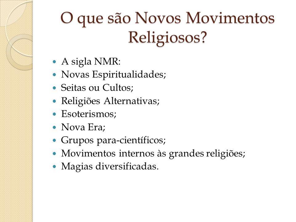 O que são Novos Movimentos Religiosos
