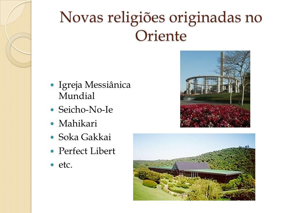 Novas religiões originadas no Oriente