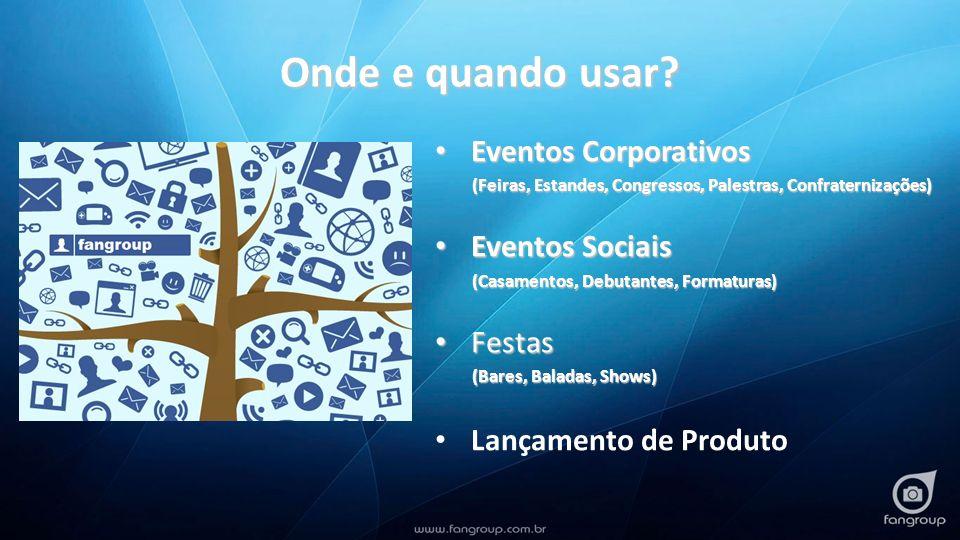 Onde e quando usar Eventos Corporativos Eventos Sociais Festas