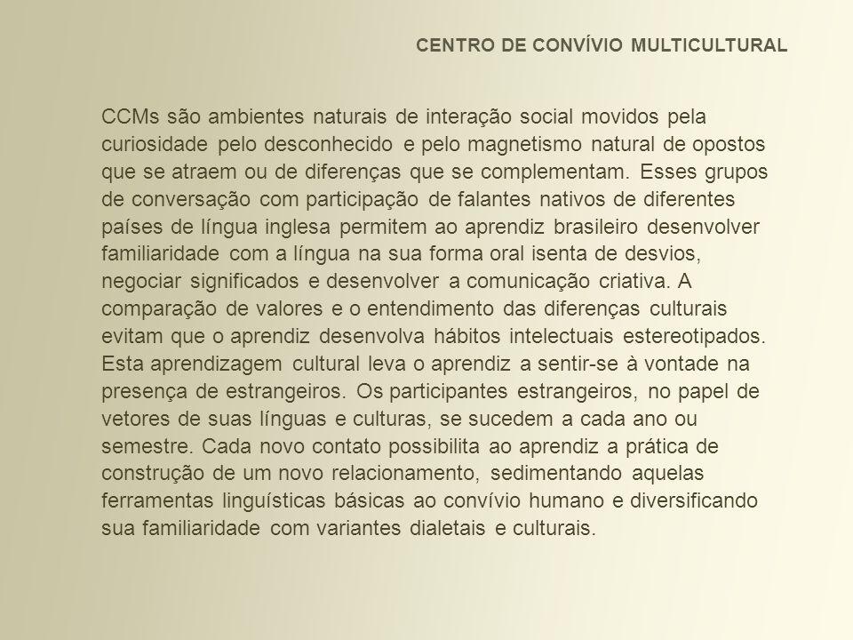 CENTRO DE CONVÍVIO MULTICULTURAL