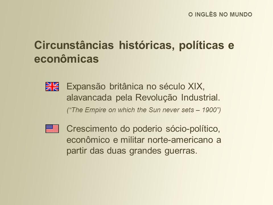Circunstâncias históricas, políticas e econômicas