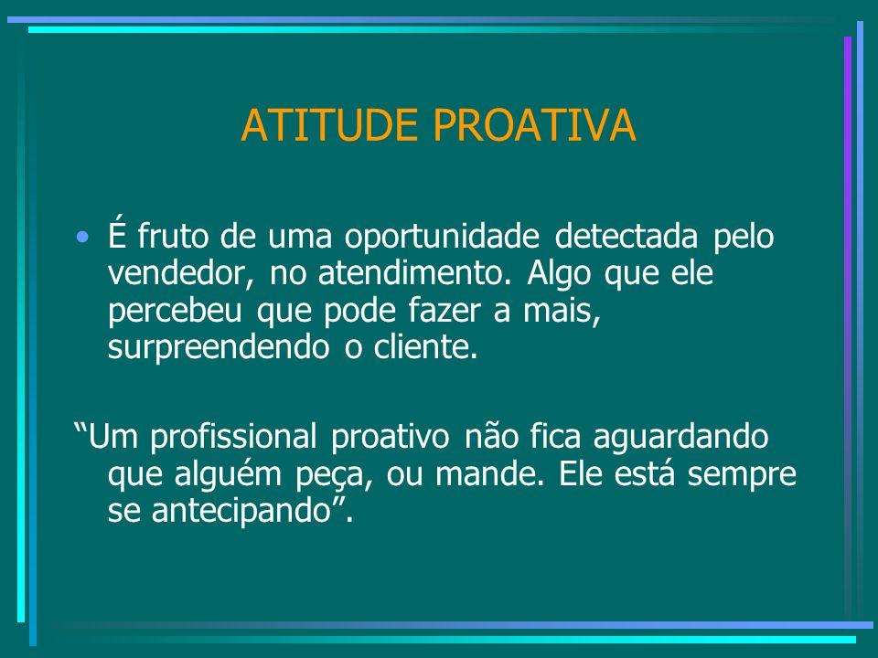 ATITUDE PROATIVA