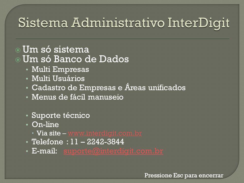 Sistema Administrativo InterDigit