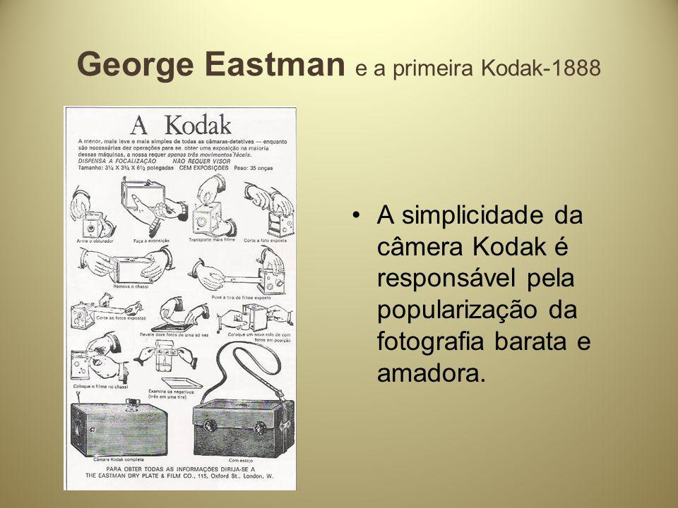 George Eastman e a primeira Kodak-1888