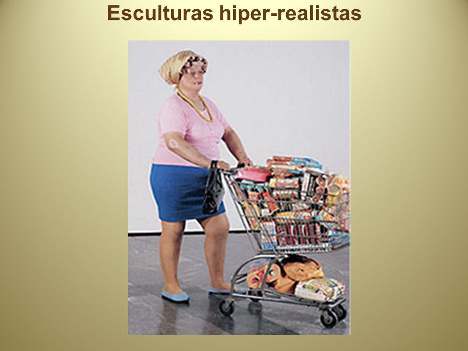 Esculturas hiper-realistas