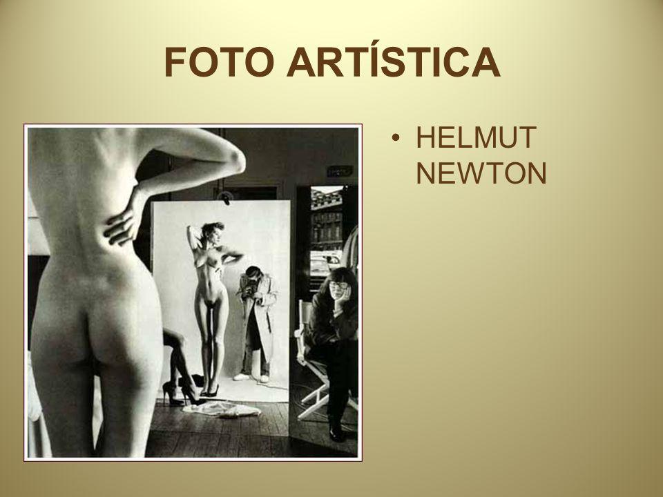 FOTO ARTÍSTICA HELMUT NEWTON