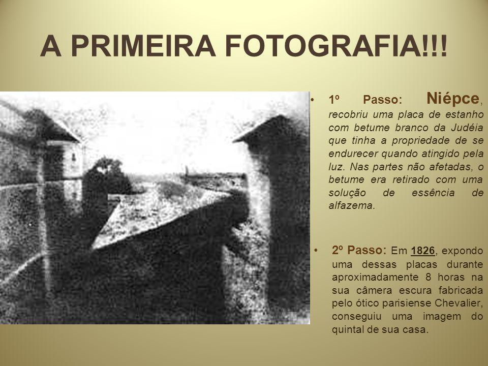 A PRIMEIRA FOTOGRAFIA!!!