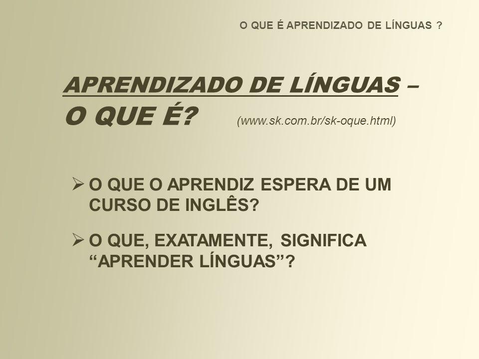 O QUE É (www.sk.com.br/sk-oque.html)