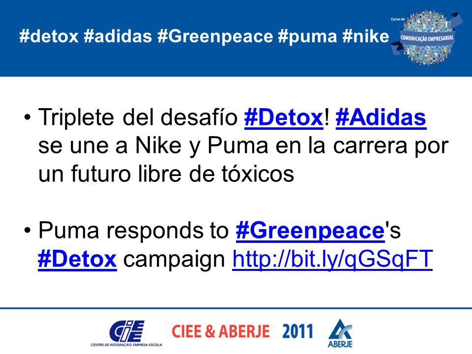Puma responds to #Greenpeace s #Detox campaign http://bit.ly/qGSqFT