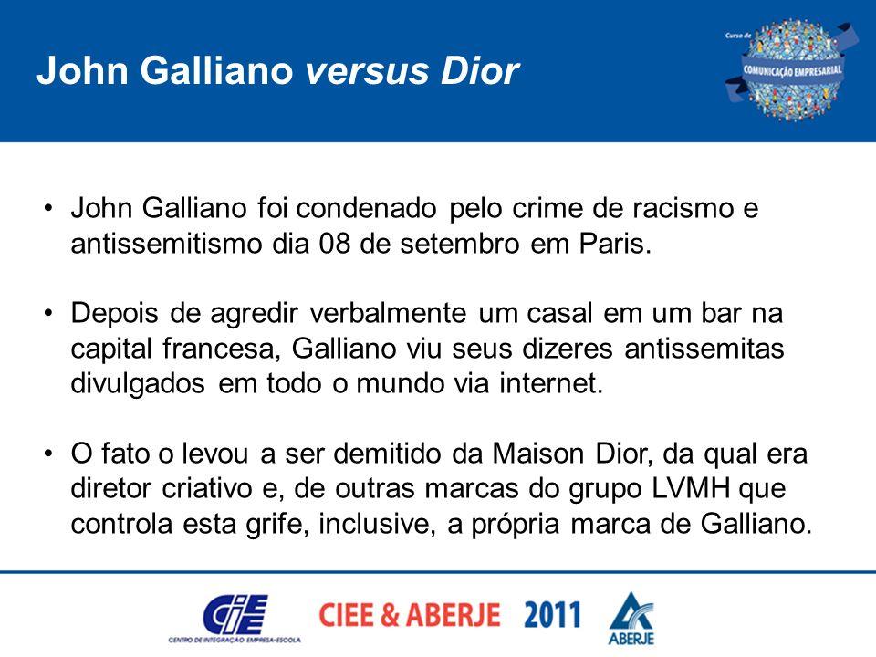 John Galliano versus Dior