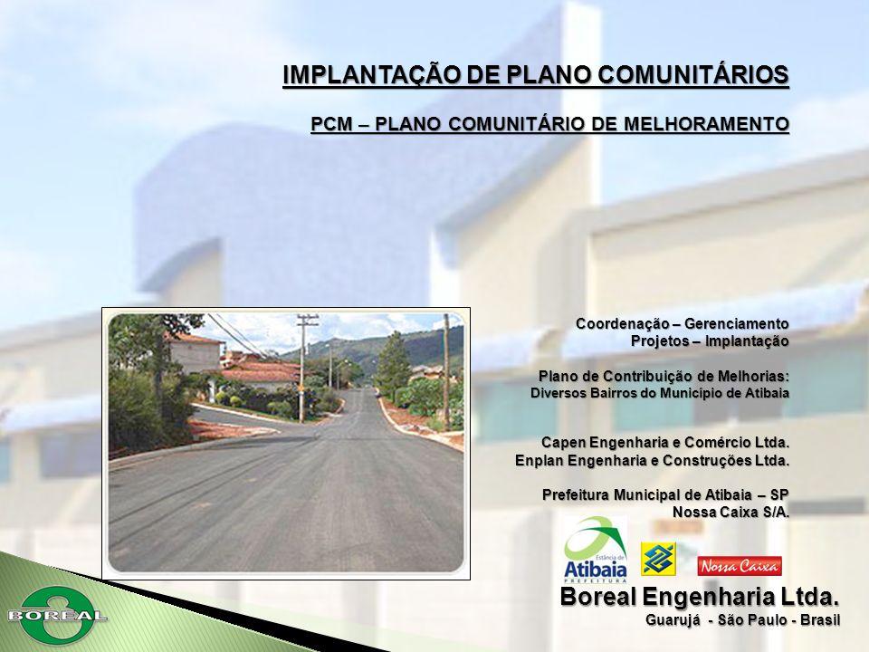 IMPLANTAÇÃO DE PLANO COMUNITÁRIOS