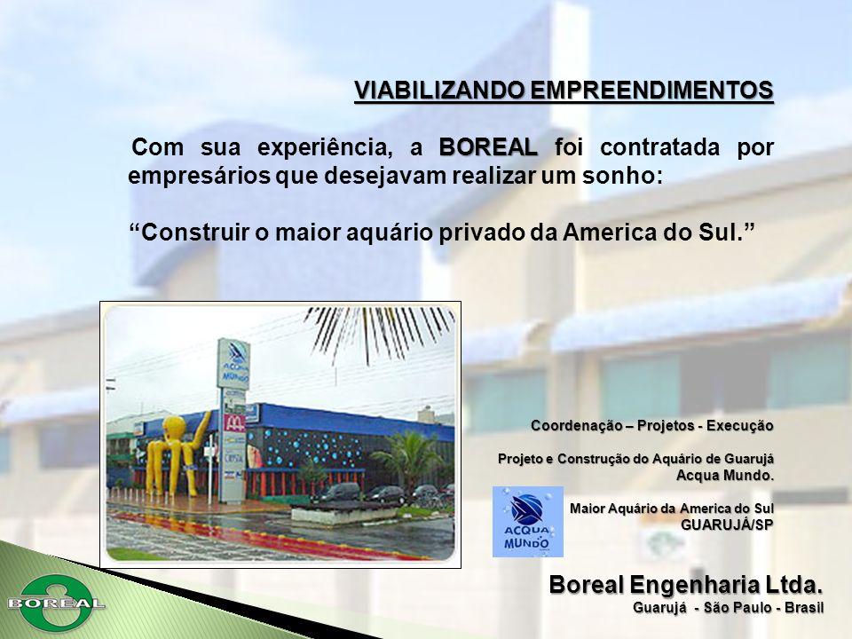 Construir o maior aquário privado da America do Sul.