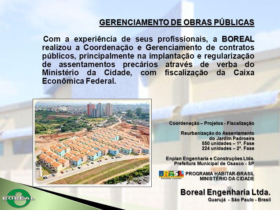 GERENCIAMENTO DE OBRAS PÚBLICAS