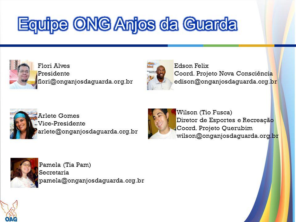 Equipe ONG Anjos da Guarda
