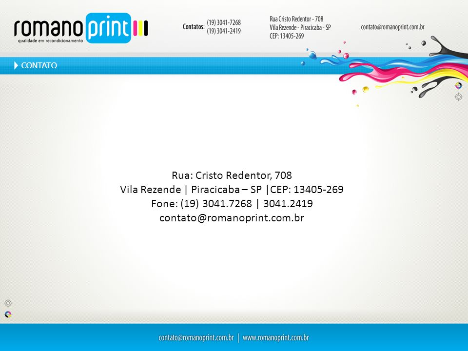Vila Rezende | Piracicaba – SP |CEP: 13405-269