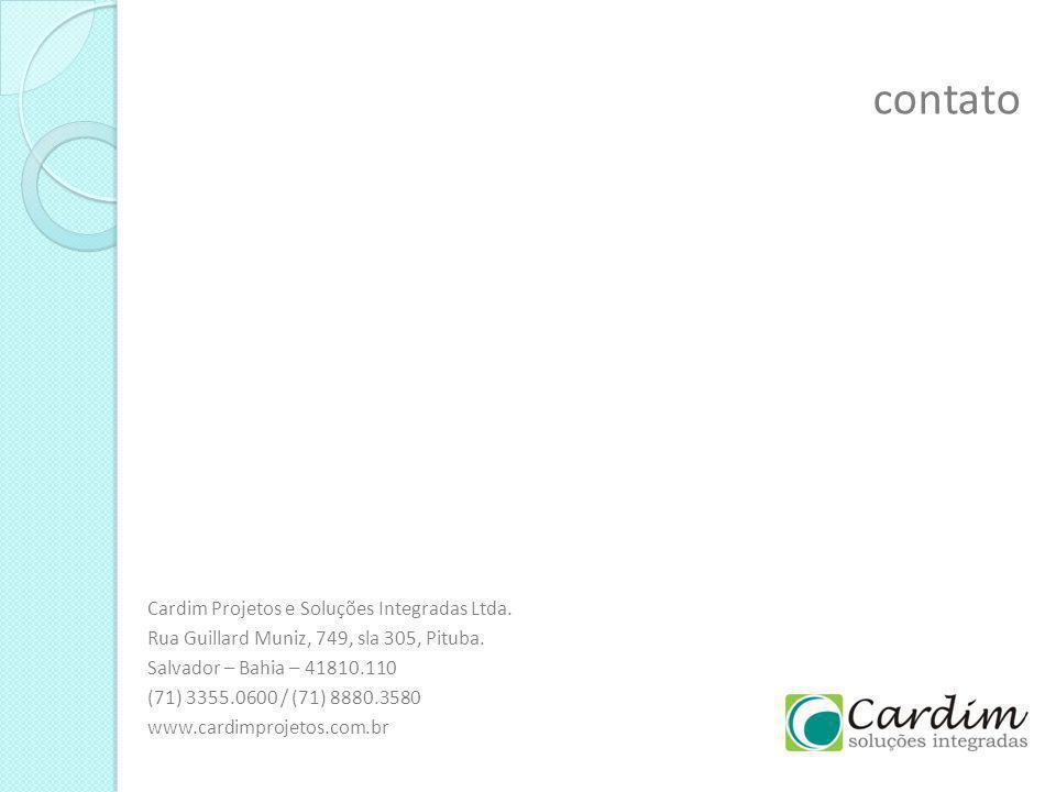 contato Cardim Projetos e Soluções Integradas Ltda.