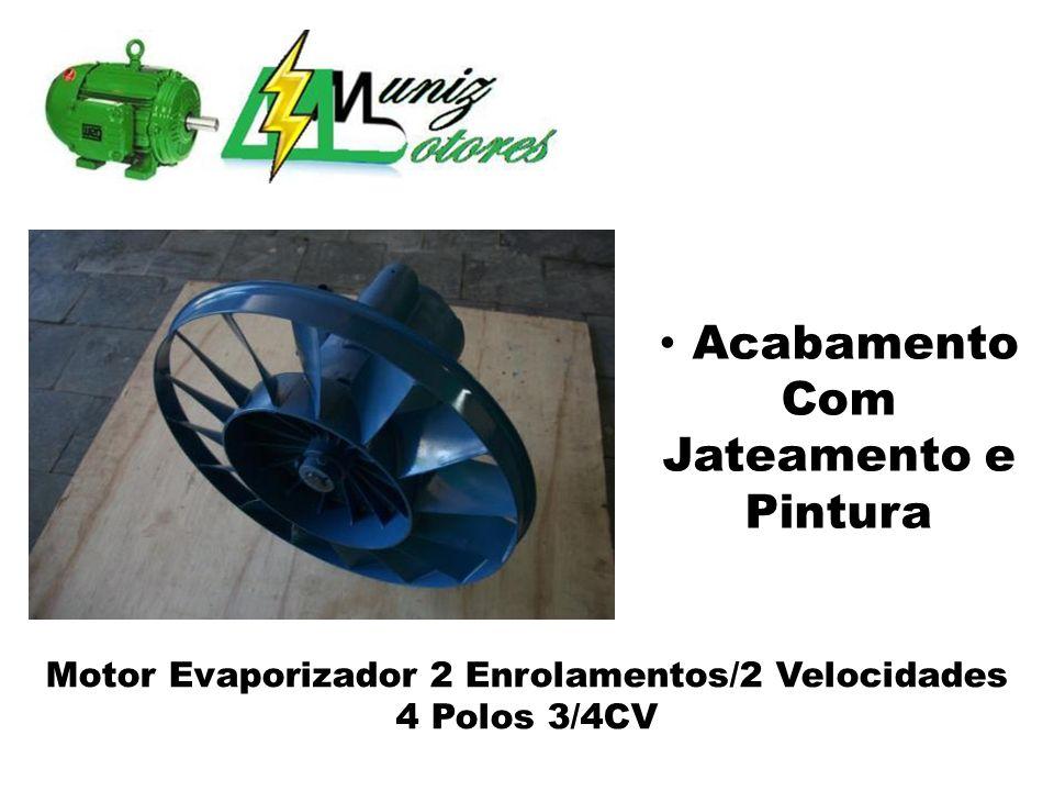Motor Evaporizador 2 Enrolamentos/2 Velocidades