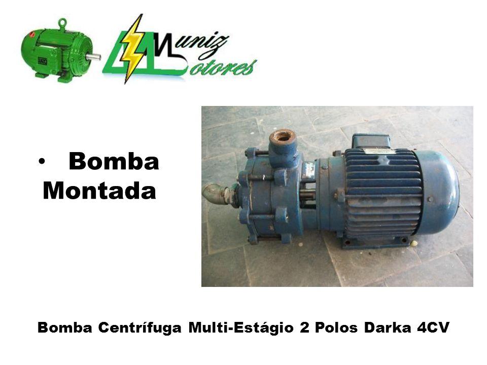 Bomba Centrífuga Multi-Estágio 2 Polos Darka 4CV