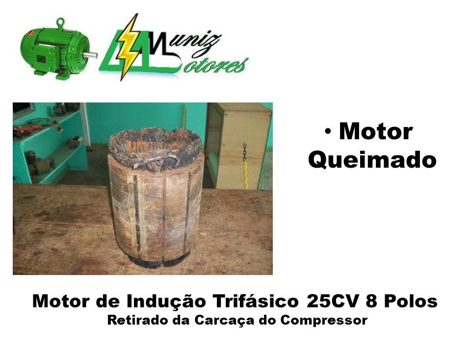 Retirado da Carcaça do Compressor