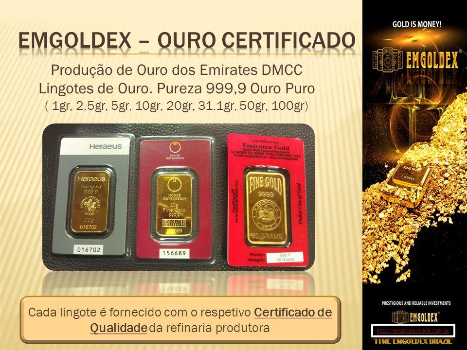 Emgoldex – Ouro certificado