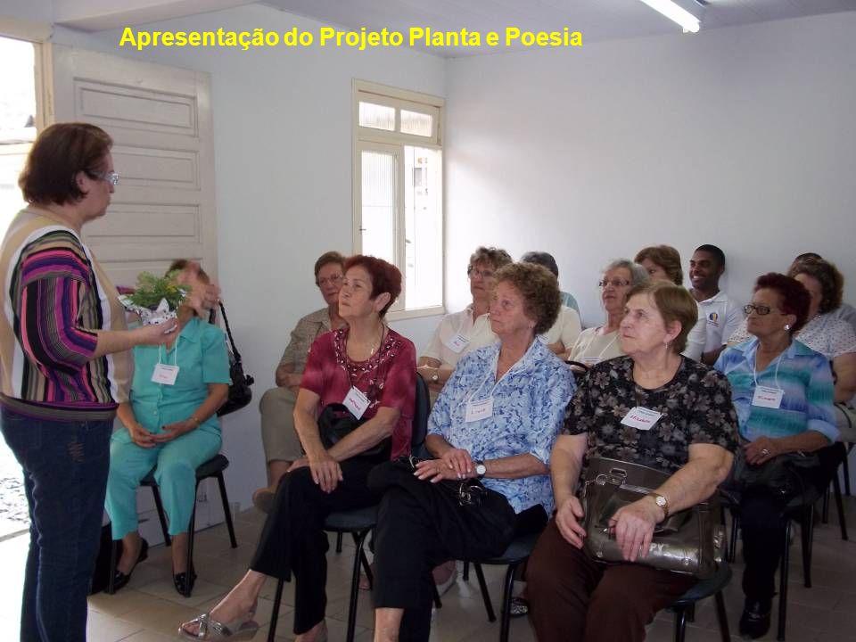 Apresentação do Projeto Planta e Poesia