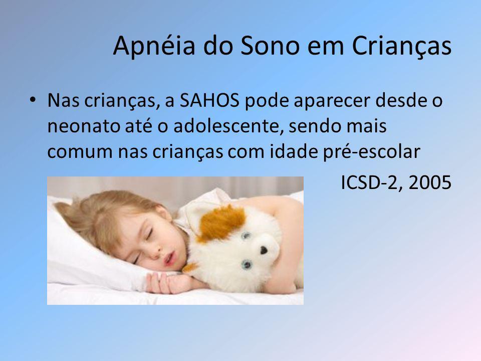 Apnéia do Sono em Crianças