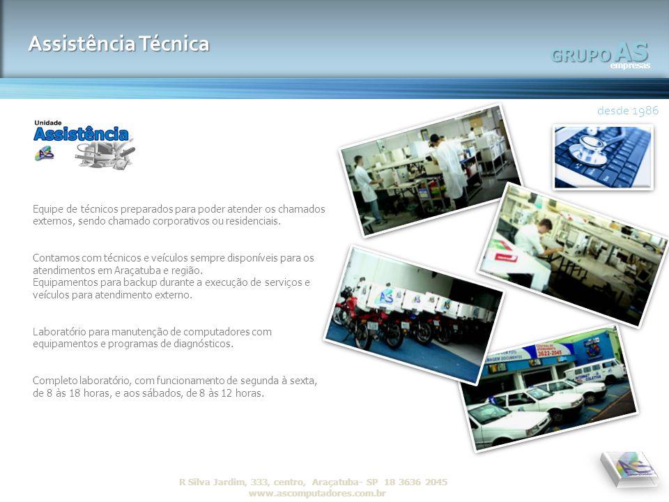 AS Assistência Técnica GRUPO desde 1986