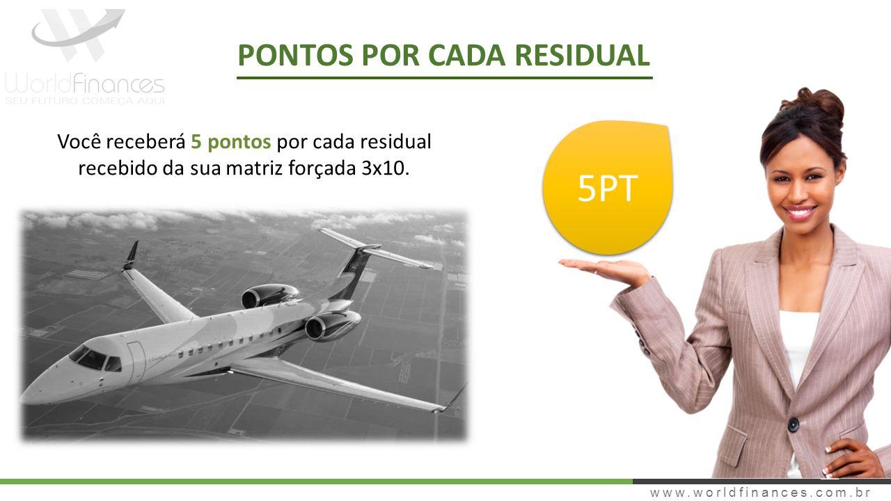 5PT PONTOS POR CADA RESIDUAL