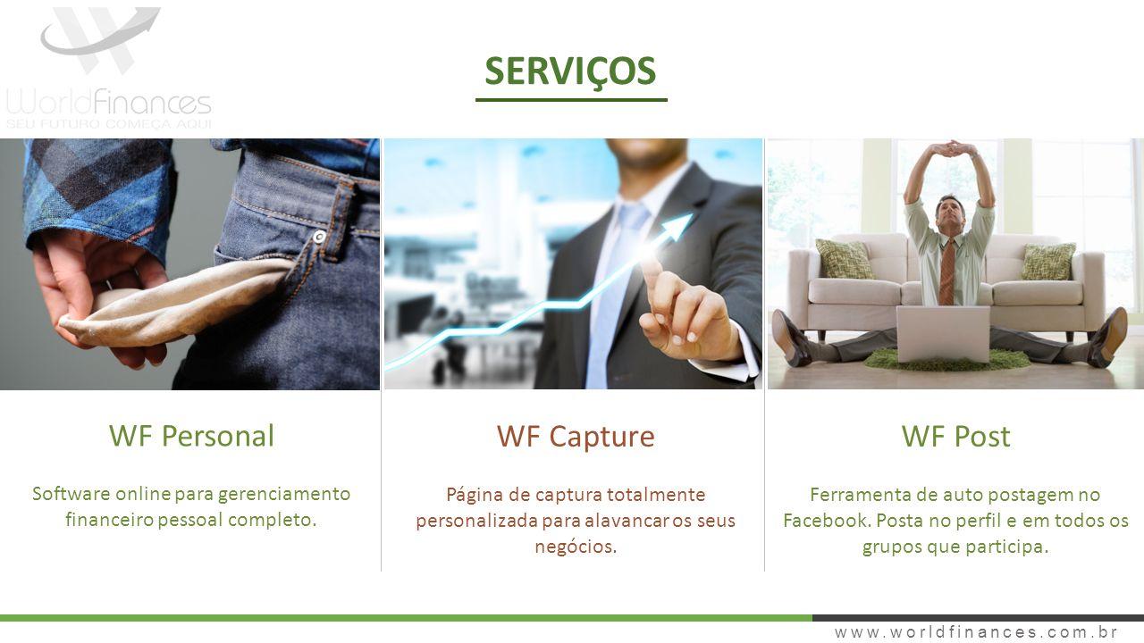 Software online para gerenciamento financeiro pessoal completo.