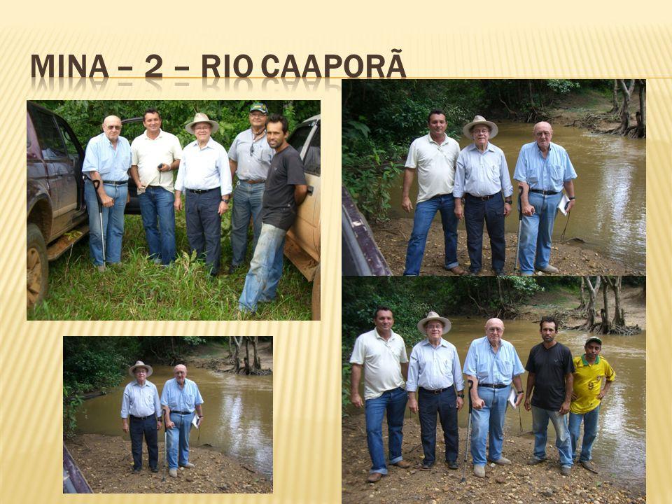 MINA – 2 – RIO CAAPORÃ